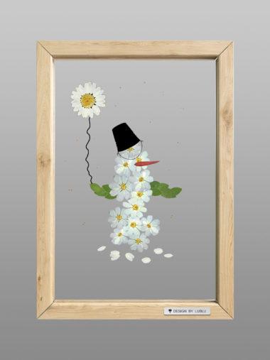Рамка «Снеговик»