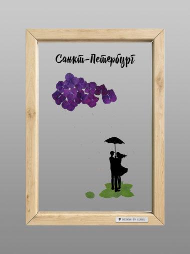 Рамка «Под дождем»