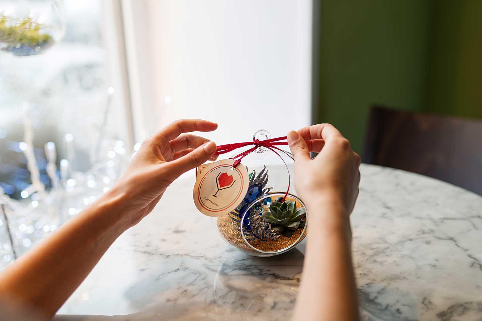 Флорариум / экошар в подарок