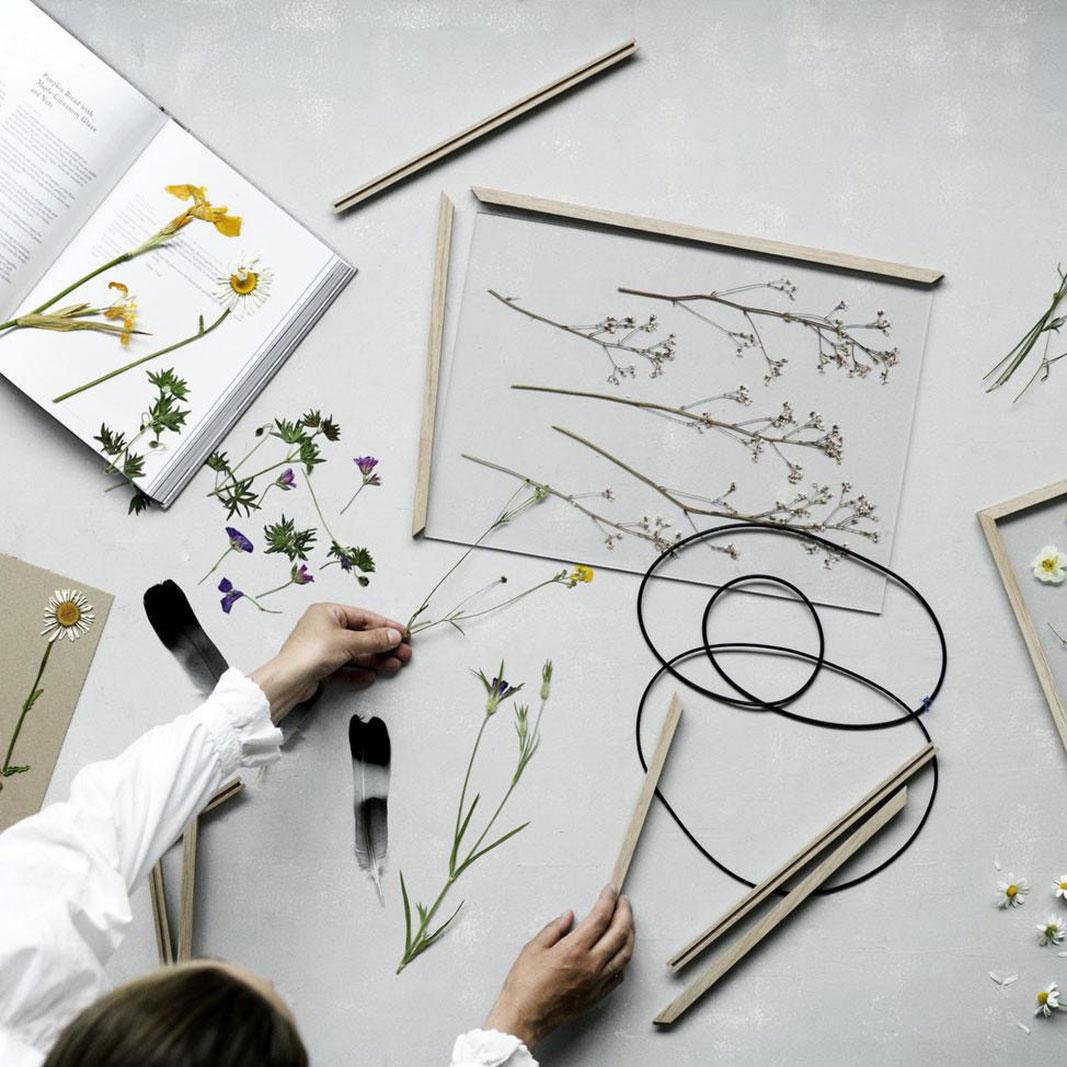 Мастер-класс по рамкам-гербариям
